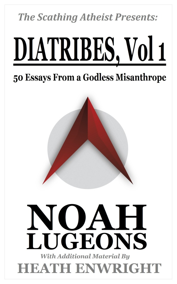 Book Cover Diatribes Vol1